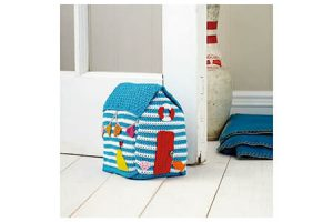 Beach Hut Crochet Doorstop Pattern By Emma Varnam
