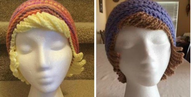 Chemo Hat With Hair