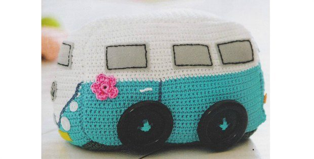 crochet doorstop VW, camper door stop