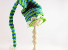 Crochet Elf Hat Pattern For Adults And Kids