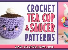 CROCHET TEA CUP AND SAUCER PATTERNS