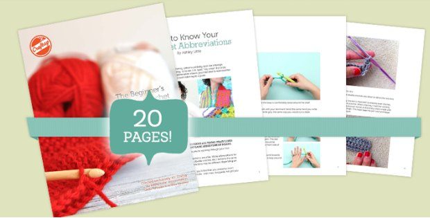 Free Crochet Patterns For Beginners PDF E-Book
