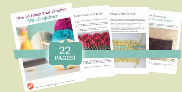 finishing crochet with confidence