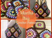 square Crochet bag martha pattern