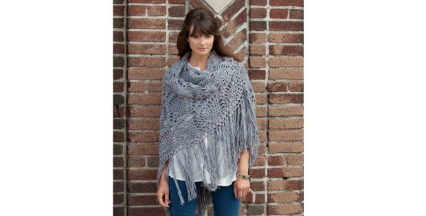 Sidewalk Shawl Crochet Pattern Free