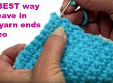 How To Weave In Yarn Ends