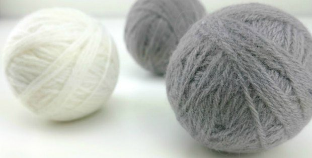 felted wool dryer balls how to video