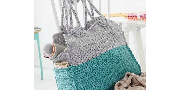 summer crochet bag
