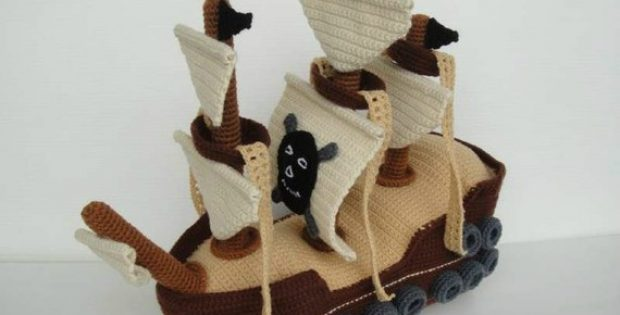 Crochet Pirate Ship Pattern