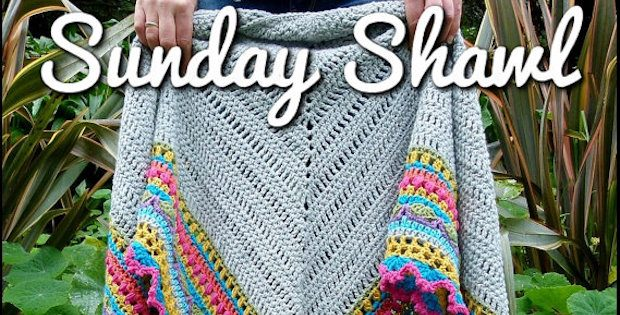 Sunday Shawl Crochet Pattern