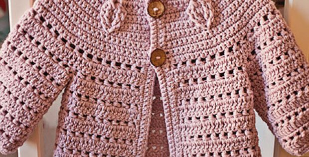 Falling Leaves Crochet Cardigan Pattern