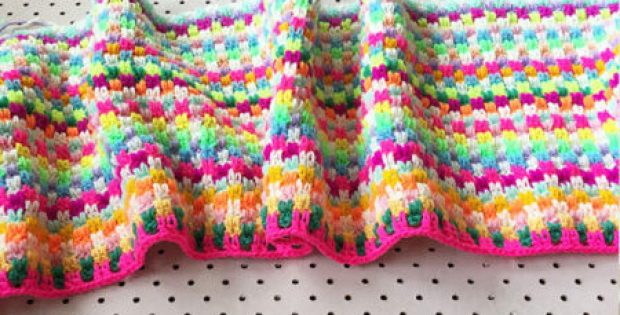 Snuggle Stitch Blanket Pattern