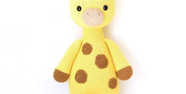 Giraffe Crochet Toy Pattern