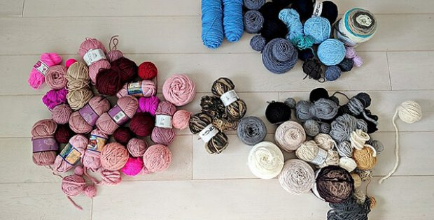 Unused Yarn From The Snugglery