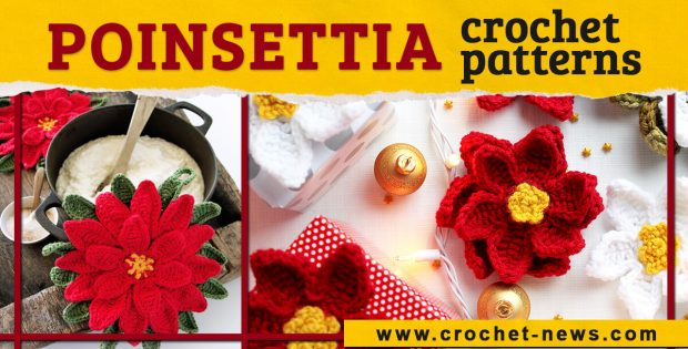 CROCHET POINSETTIA PATTERNS