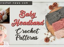 CROCHET BABY HEADBAND PATTERNS