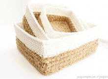 Square Stacking Baskets Set By JaKiGu