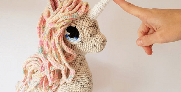Comet The Unicorn Amigurumi Pattern by Projectarian