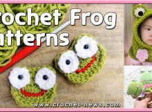 CROCHET FROG AND FROG HAT PATTERNS