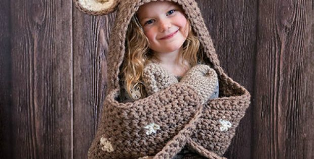 Crochet Deer Blanket Pattern By MJsOffTheHookDesigns