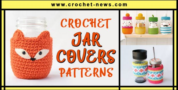 CROCHET JAR COVERS PATTERNS