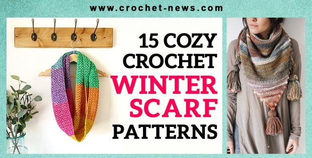 CROCHET WINTER SCARF PATTERN