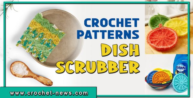 CROCHET DISH SCRUBBER PATTERNS