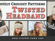 LOVELY CROCHET TWISTED HEADBAND PATTERNS