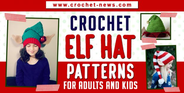 crochet elf hat patterns
