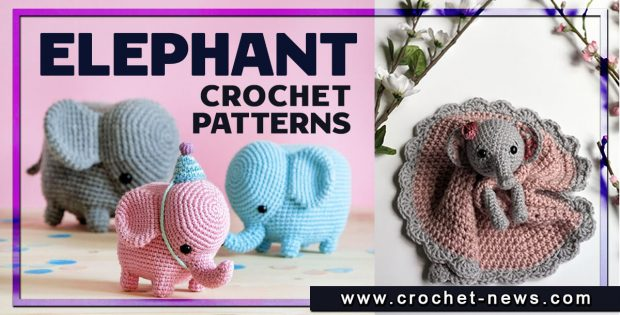 CROCHET ELEPHANT PATTERNS