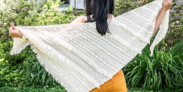 Crochet Boho Shawl By 1dogwoof