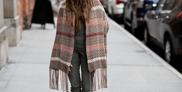 Crochet Plaid Scarf Pattern By TwoofWandsShop