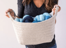 Essentials Basket Crochet Pattern by Knit And Crochet Evr Aft