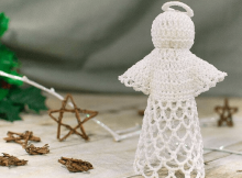 Lace Angel Crochet Pattern by Petals To Picots