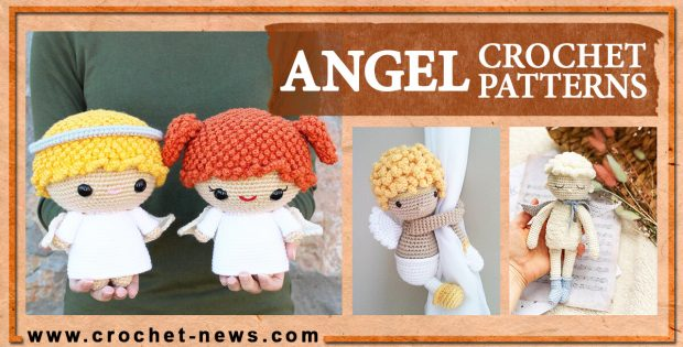 CROCHET ANGEL PATTERNS