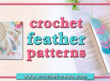 crochet feather patterns