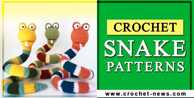crochet snake patterns