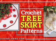 crochet tree skirt patterns