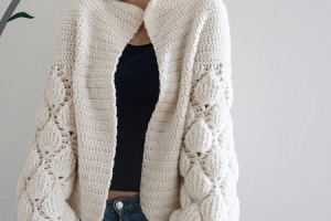 Crochet Cardigan Pattern by Kandiana