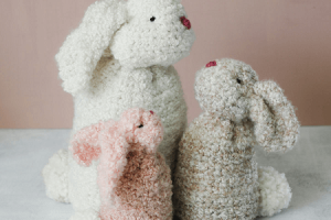 Free Crochet Bunny Pattern For Beginners by Make And Do Crew