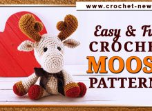 EASY AND FUN CROCHET MOOSE PATTERNS