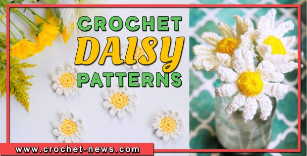 crochet daisy patterns