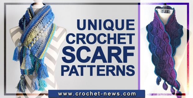 UNIQUE CROCHET SCARF PATTERNS