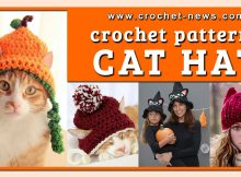 CROCHET CAT HAT PATTERNS