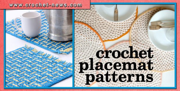 CROCHET PLACEMAT PATTERNS