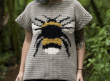 Bumble Tee Crochet Pattern by Hailey Bailey