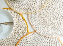 Granny Circle Placemats Crochet Pattern by Purl Soho