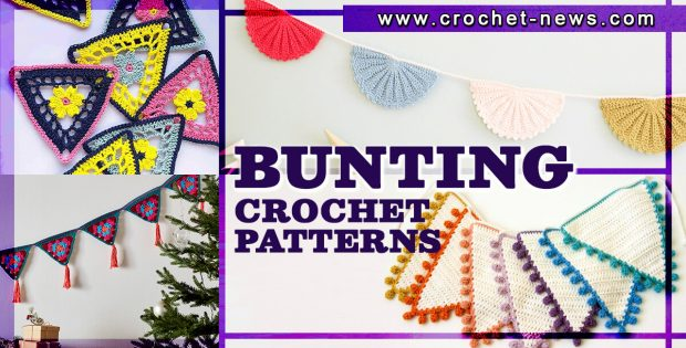 CROCHET BUNTING PATTERNS