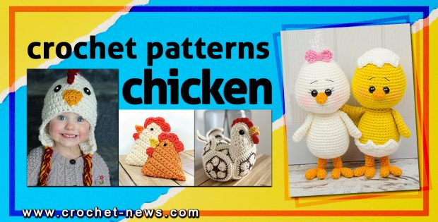 CROCHET CHICKEN PATTERNS