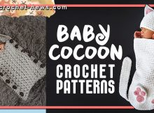 CROCHET BABY COCOON PATTERNS